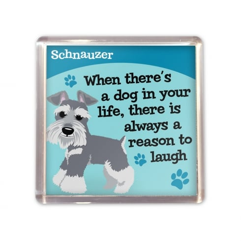 Wags & Whiskers Schnauzer Magnet