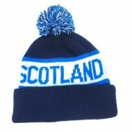 Scotland Beanie Hat Blue
