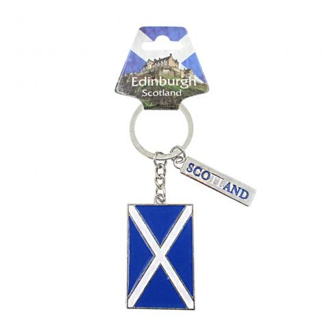 EastWest Scotland Flag Keyring