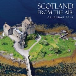 Scotland From The Air Wall Calendar 2019