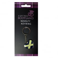 Scotland Heart Keyring