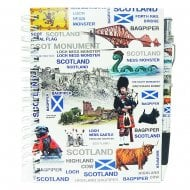 Scotland Notebook And Pen