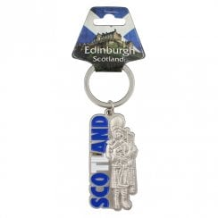 Scotland Piper Keyring