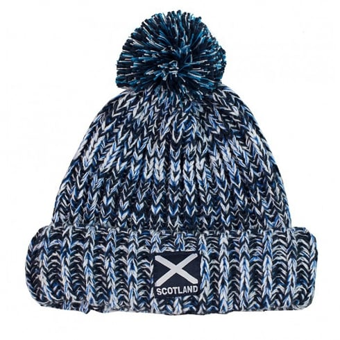 International Insignia Limited Scotland Thick Knit Pom Pom Beanie