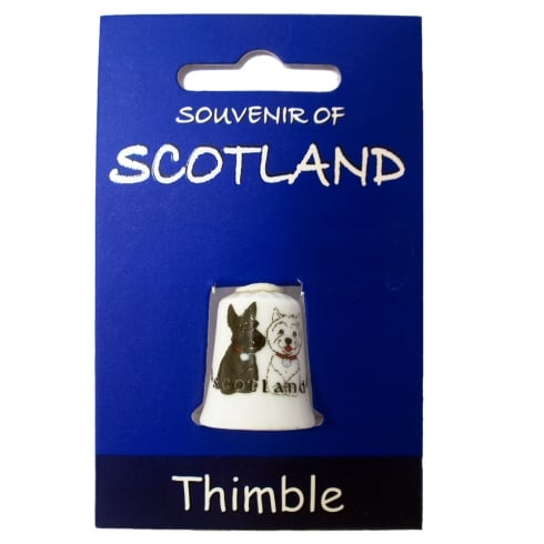 Heather Gift Co. Scottie Dog Thimble