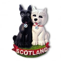Scottie Dogs Magnet