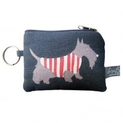 Scottie Purple Coin Purse