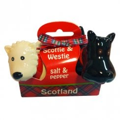 Scottie / Westie Salt & Pepper Set Woolly ware