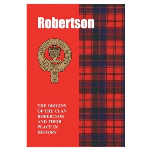 Lang Syne Publishers Ltd Scottish Clan Book Robertson 978-1-85217-082-4
