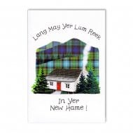 Scottish Cottage New Home Card