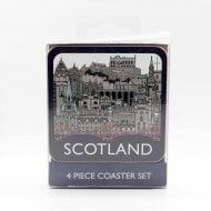 Scottish Landmarks Coasters Set Of 4