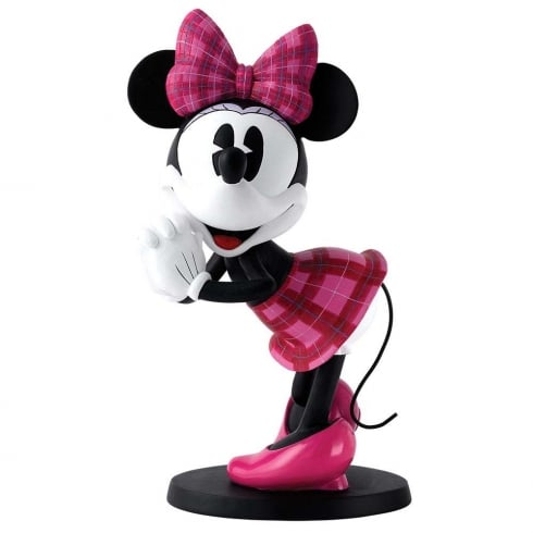 Disney Enchanting Collection Scottish Minnie Mouse Statement Large Figurine