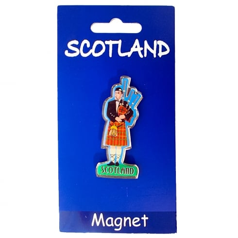Heather Gift Co. Scottish Piper Magnet