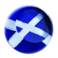 Scottish Saltire Paperweight