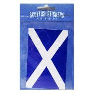 Scottish Sticker Saltire Flag
