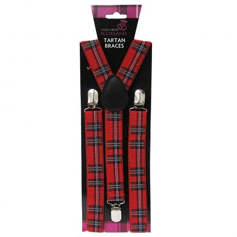 Thistle Products Ltd Scottish Tartan Braces