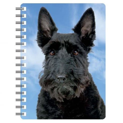 Faithful Friends Collectables Scottish Terrier 1 3D Notebook