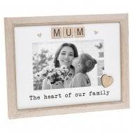 Scrabble Sentiment - Mum 6 x 4 Photo Frame