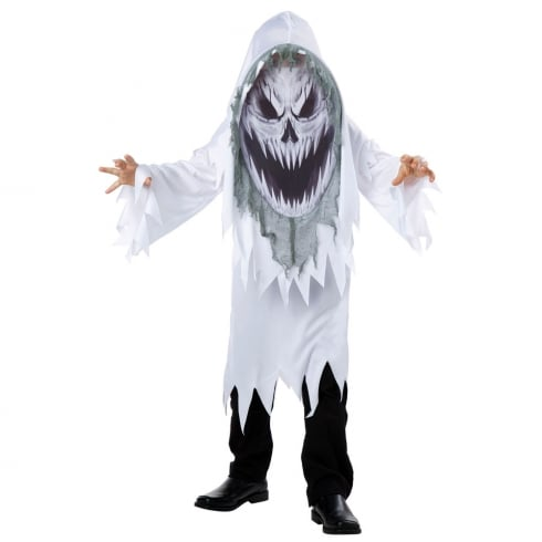 Fun World Screaming Ghost Mad Creeper Child Costume Large