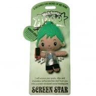 Screen Star Angel Keyring
