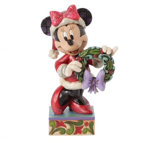 Disney Traditions Seasons Greetings Mrs Clause Minnie Mouse Figurine