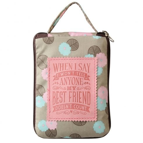 History & Heraldry Sentiment Tote Bag - Best Friend