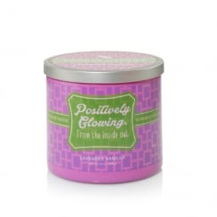Sentiments Positively Glowing Lavender Vanilla Tumbler