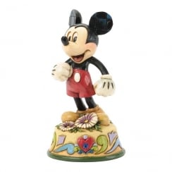 September Mickey Mouse Figurine