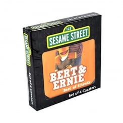 Sesame Street Box of 4 Coasters
