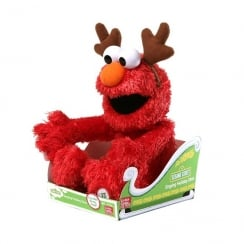 Sesame Street Singing Holiday Elmo Soft Toy