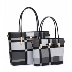 Set of 2 Bags Black