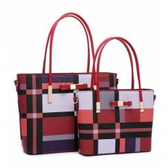 Set of 2 Bags Red