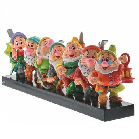 Disney By Britto Seven Dwarfs Figurine