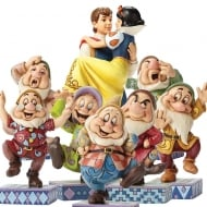 Seven Dwarfs with Free Snow White Set