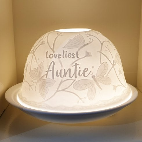 Nordic Lights Shade & Plate - Loveliest Auntie
