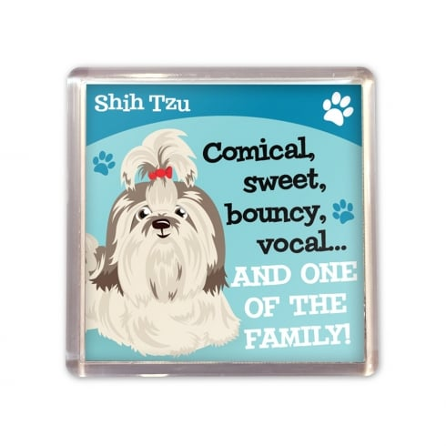 Wags & Whiskers Shih Tzu Magnet