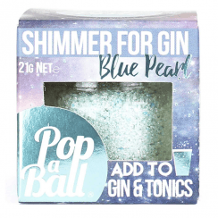 Shimmer for Gin, Blue Pearl
