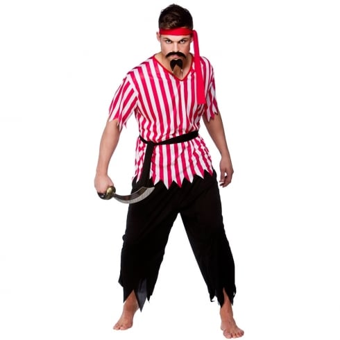 Wicked Costumes Shipmate Pirate Man Costume (L)