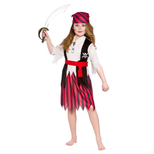 Wicked Costumes Shipwreck Pirate (8-10) Large