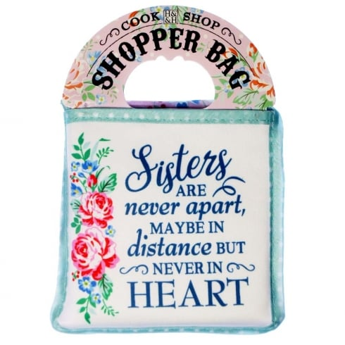 Shopper Bag....Sister Are Never Apart...