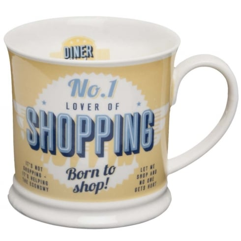 Diner Style Mugs Shopping