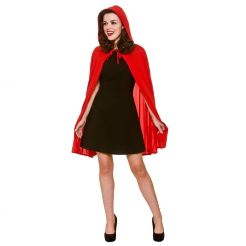 Wicked Costumes Short Red Cape with Hood  sc 1 st  The Present Shop & Wicked Costumes Short Red Cape with Hood - Wicked Costumes from The ...