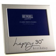 Happy 30th Birthday 5 x 3.5 Photo Frame