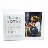 Madison Style Sister 4 x 6 MDF Photo Frame