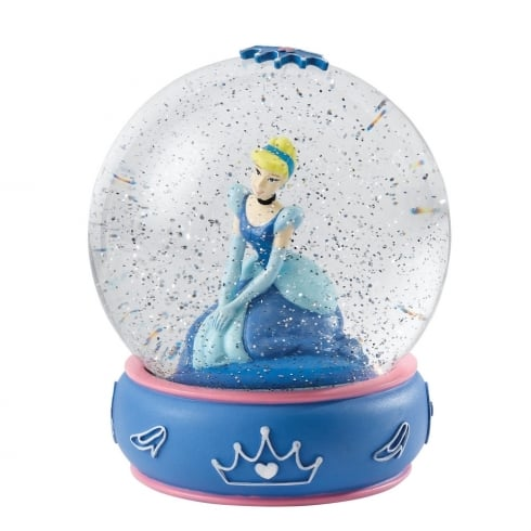 Disney Enchanting Collection Shy and Romantic Cinderella Waterball