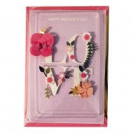 Signature Love Craft 3D Mothers Day Card 25519794