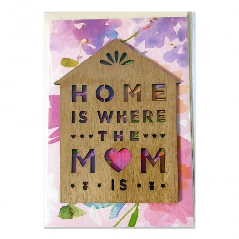 Hallmark Signature Range Home Is Where The Mum Is Mothers Day Card 25519783