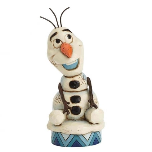 Disney Traditions Silly Snowman Frozen Olaf Figurine