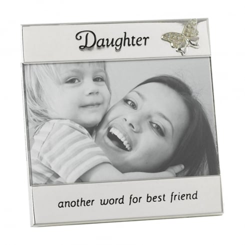 Shudehill Giftware Silver Plated Daughter 6 x 4 Photo Frame 74034