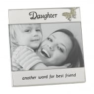 Silver Plated Daughter 6 x 4 Photo Frame